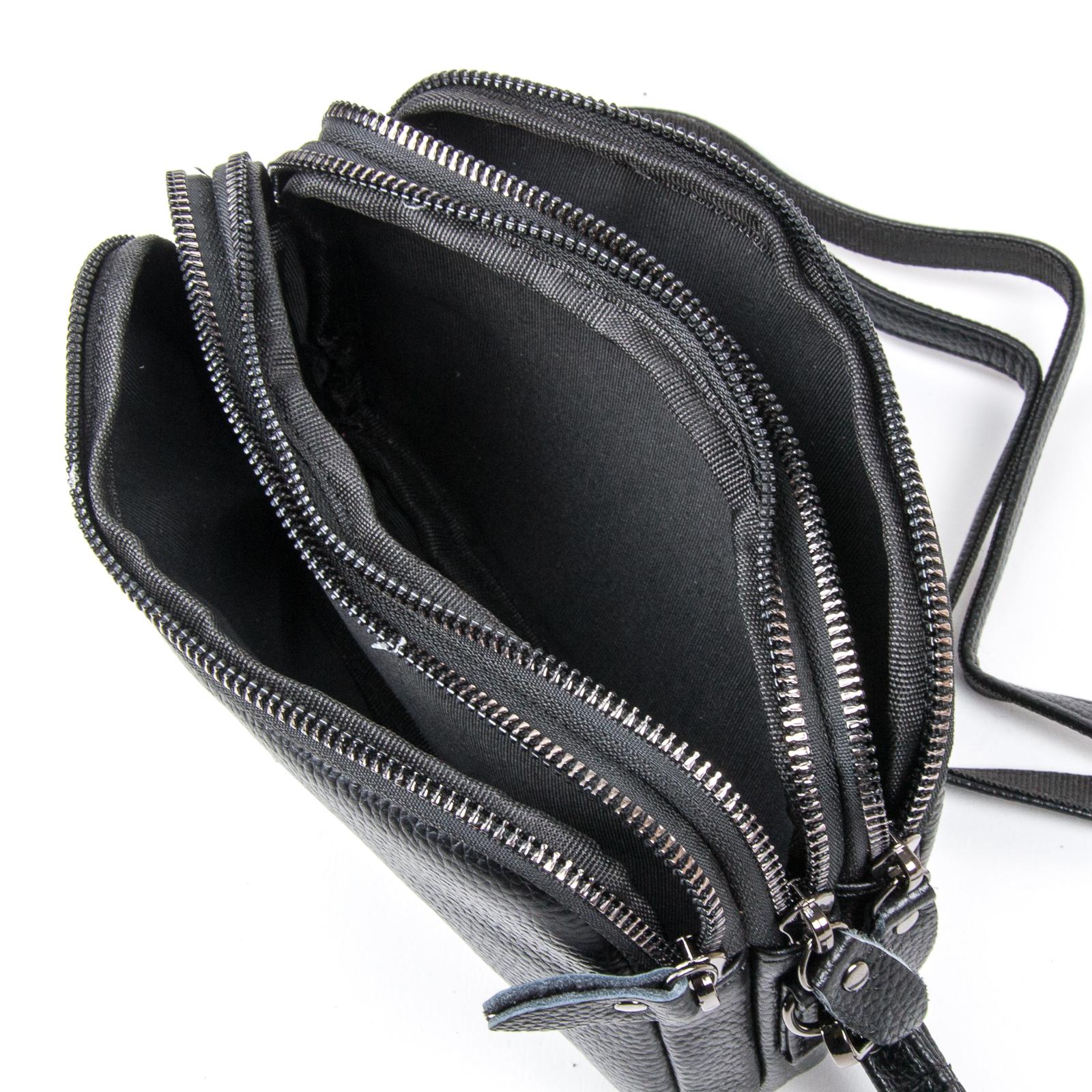 Сумка Женская Клатч кожа ALEX RAI 1-02 60061-1 black - фото 4