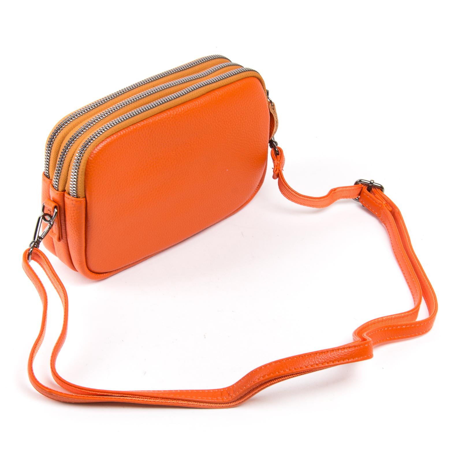 Сумка Женская Клатч кожа ALEX RAI 1-02 60061-10 orange - фото 3