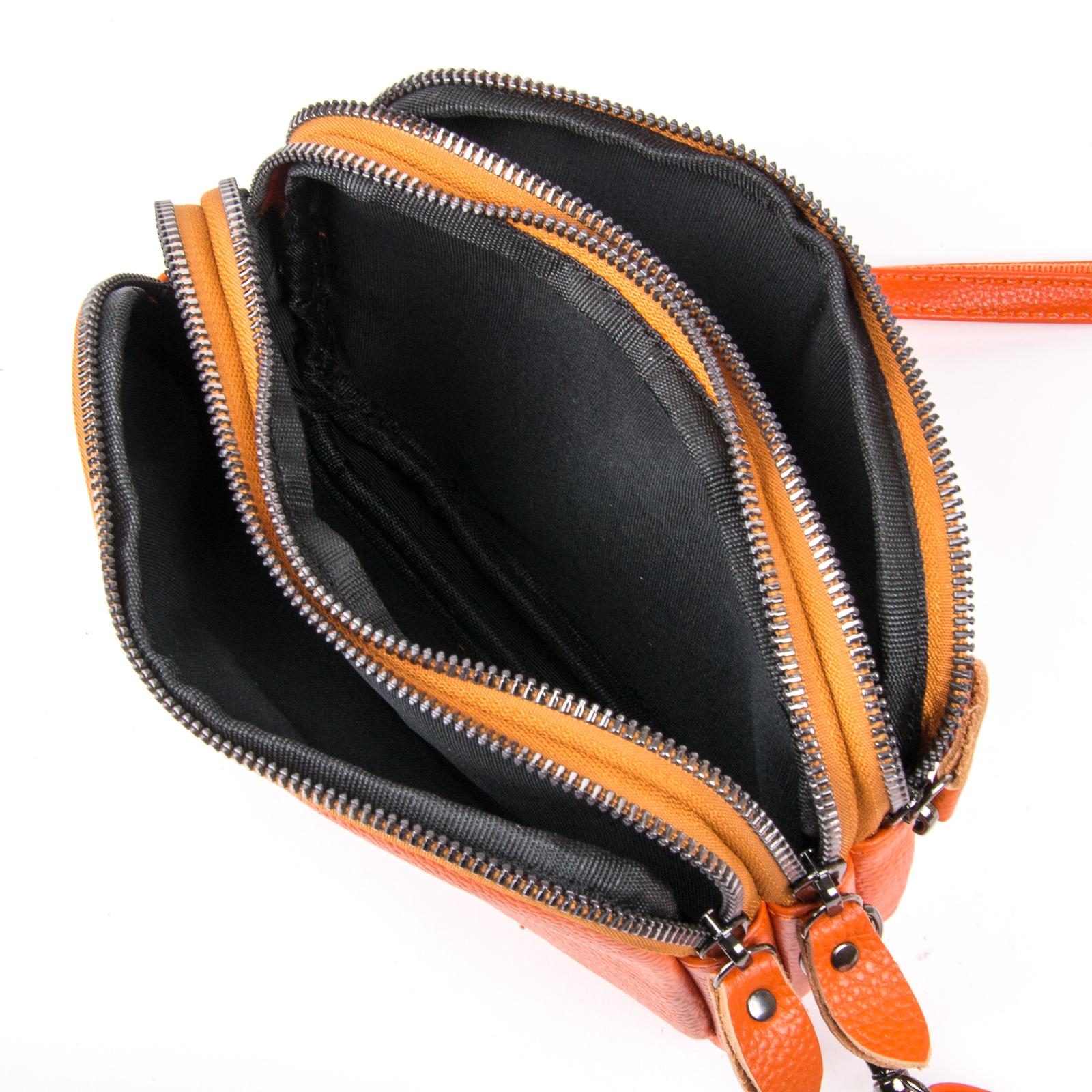 Сумка Женская Клатч кожа ALEX RAI 1-02 60061-10 orange - фото 4