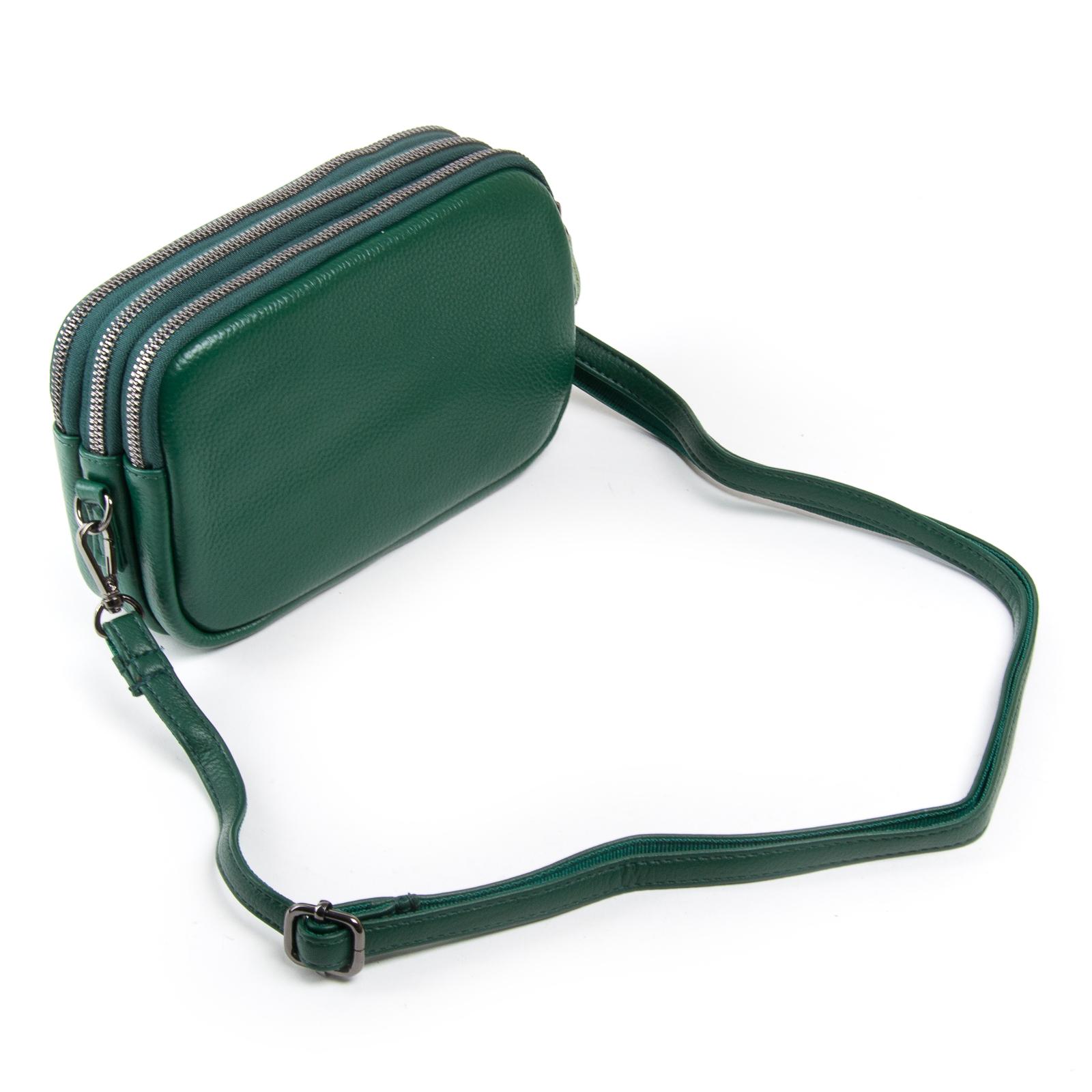 Сумка Женская Клатч кожа ALEX RAI 1-02 60061-12 green - фото 3