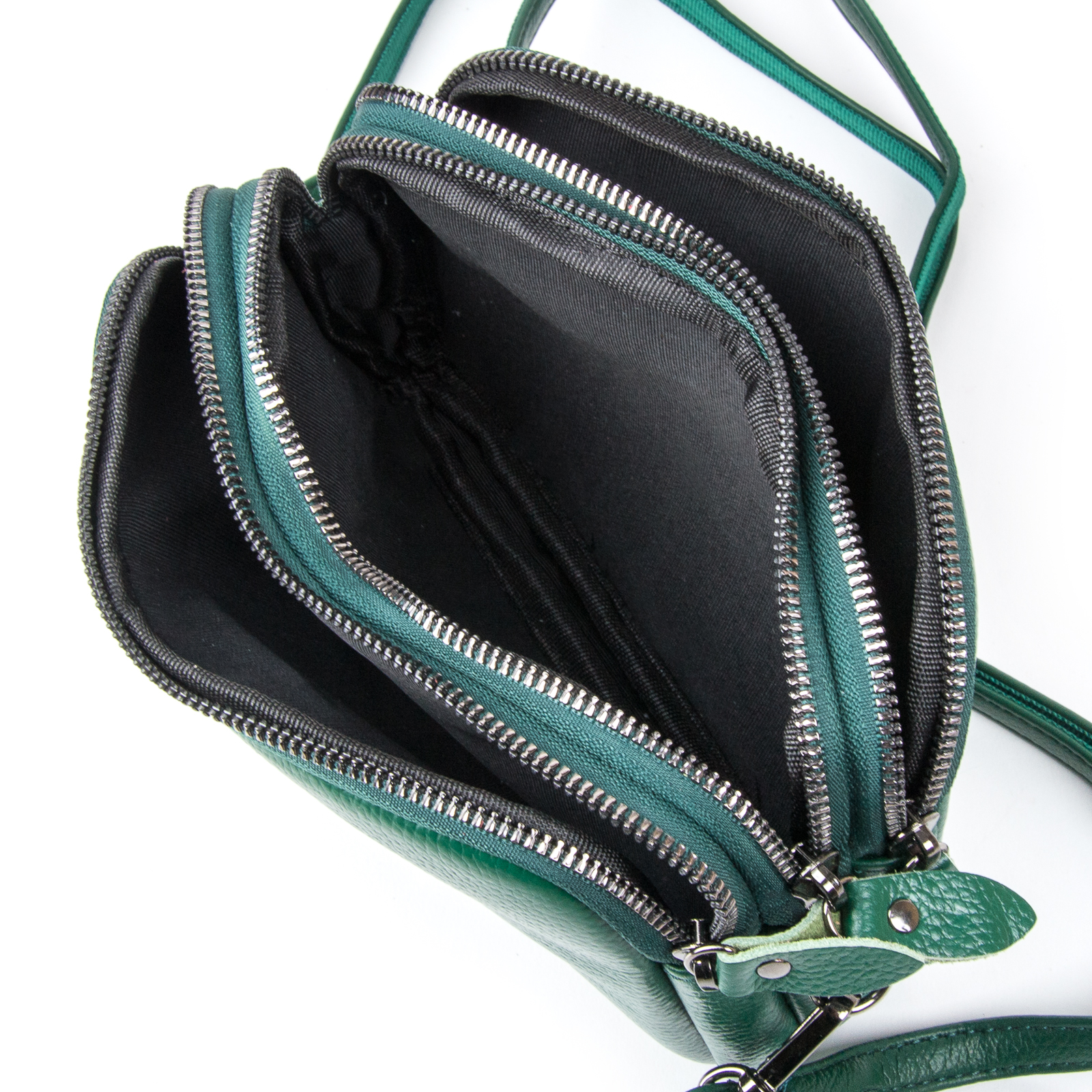 Сумка Женская Клатч кожа ALEX RAI 1-02 60061-12 green - фото 4