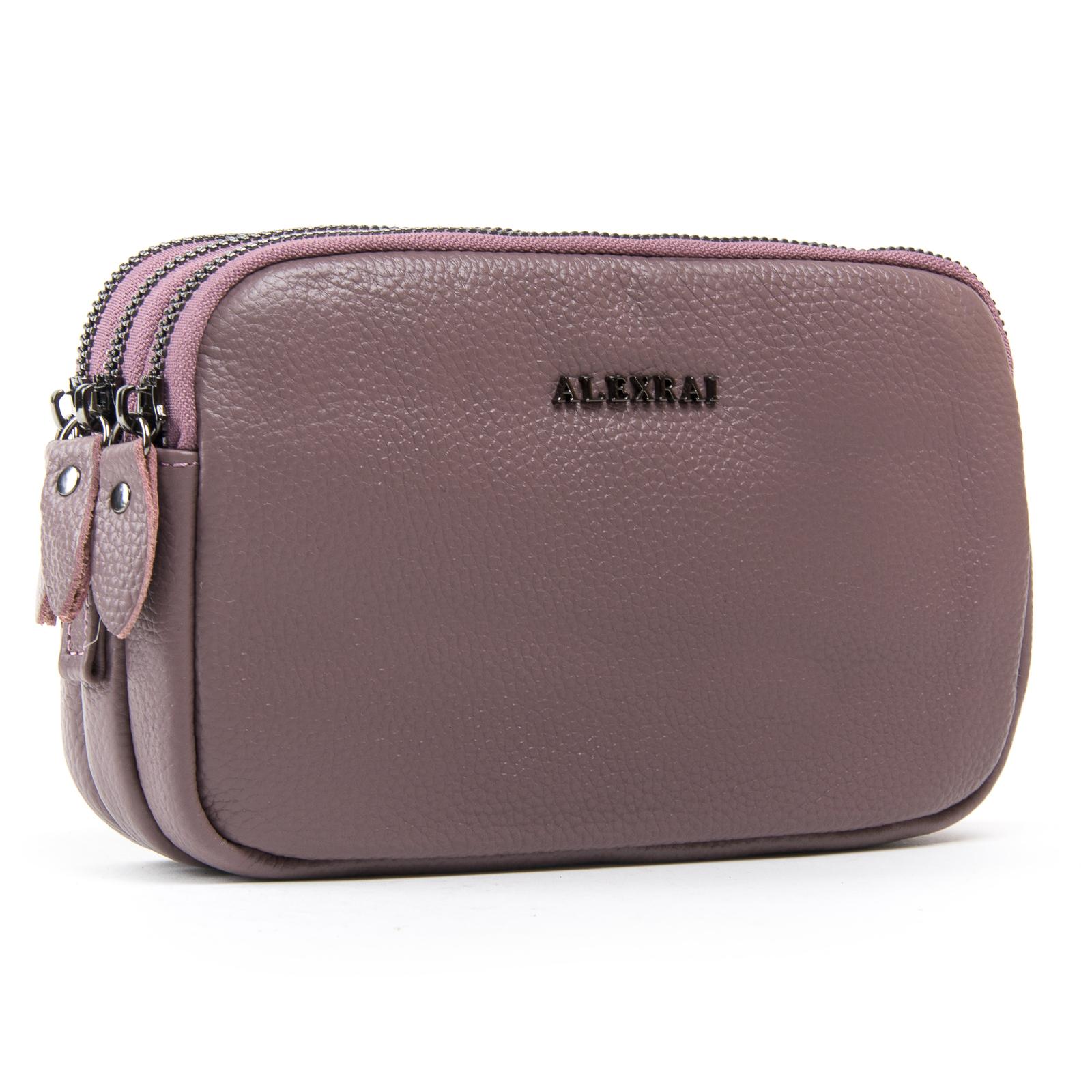 Сумка Женская Клатч кожа ALEX RAI 1-02 60061-3 purple