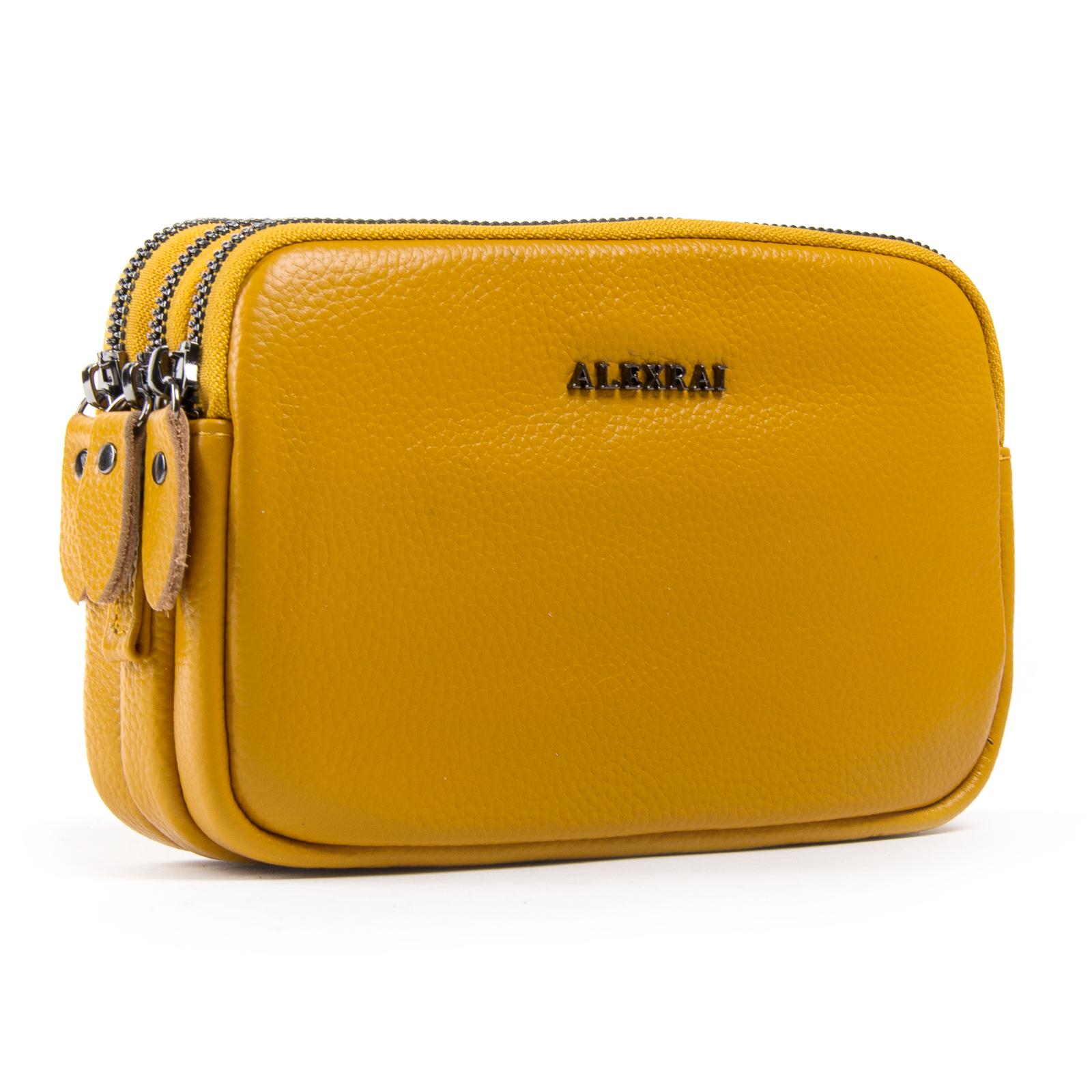 Сумка Женская Клатч кожа ALEX RAI 1-02 60061-9 yellow