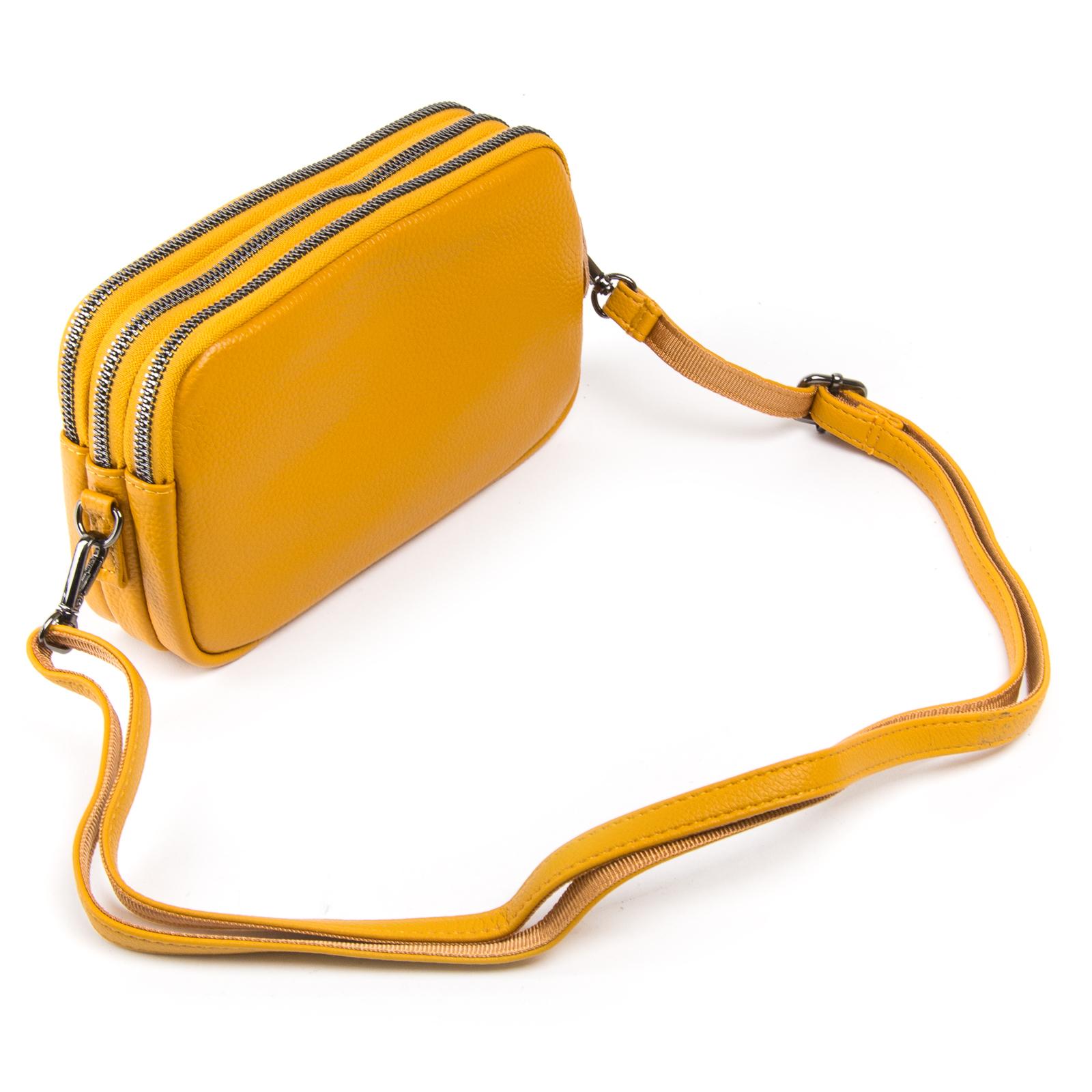 Сумка Женская Клатч кожа ALEX RAI 1-02 60061-9 yellow - фото 3