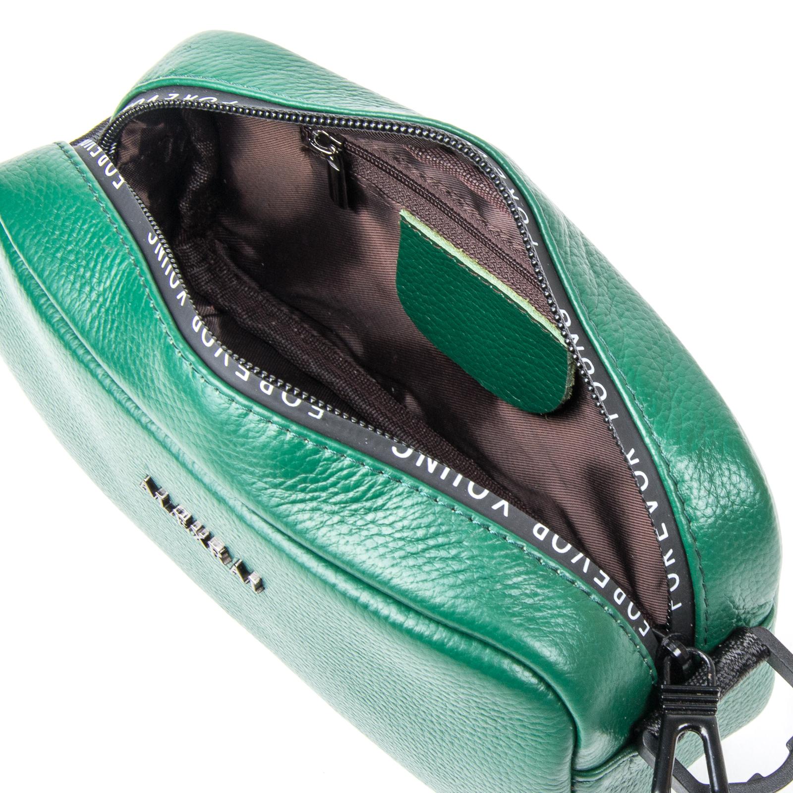 Сумка Женская Клатч кожа ALEX RAI 1-02 60062-12 green - фото 4