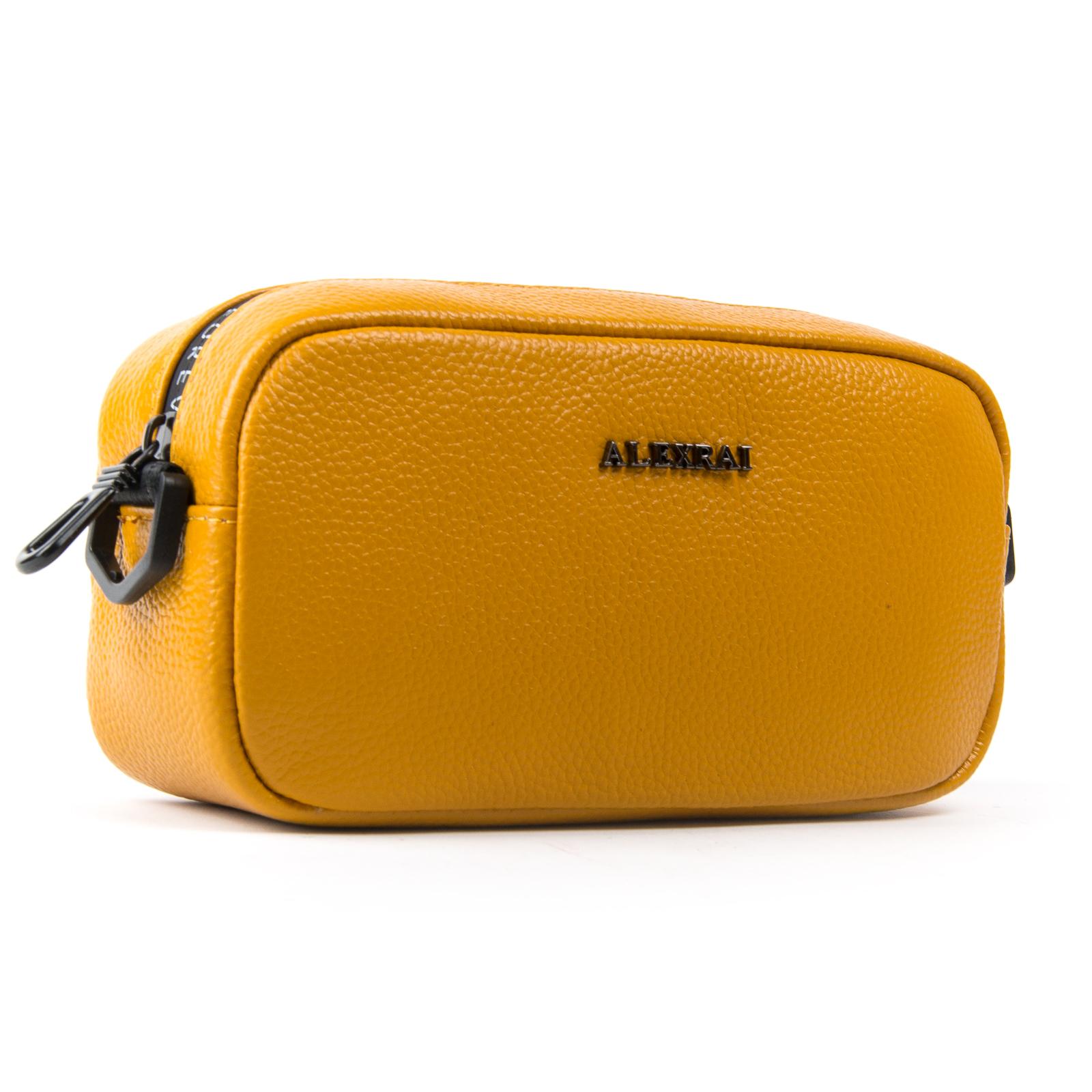 Сумка Женская Клатч кожа ALEX RAI 1-02 60062-9 yellow