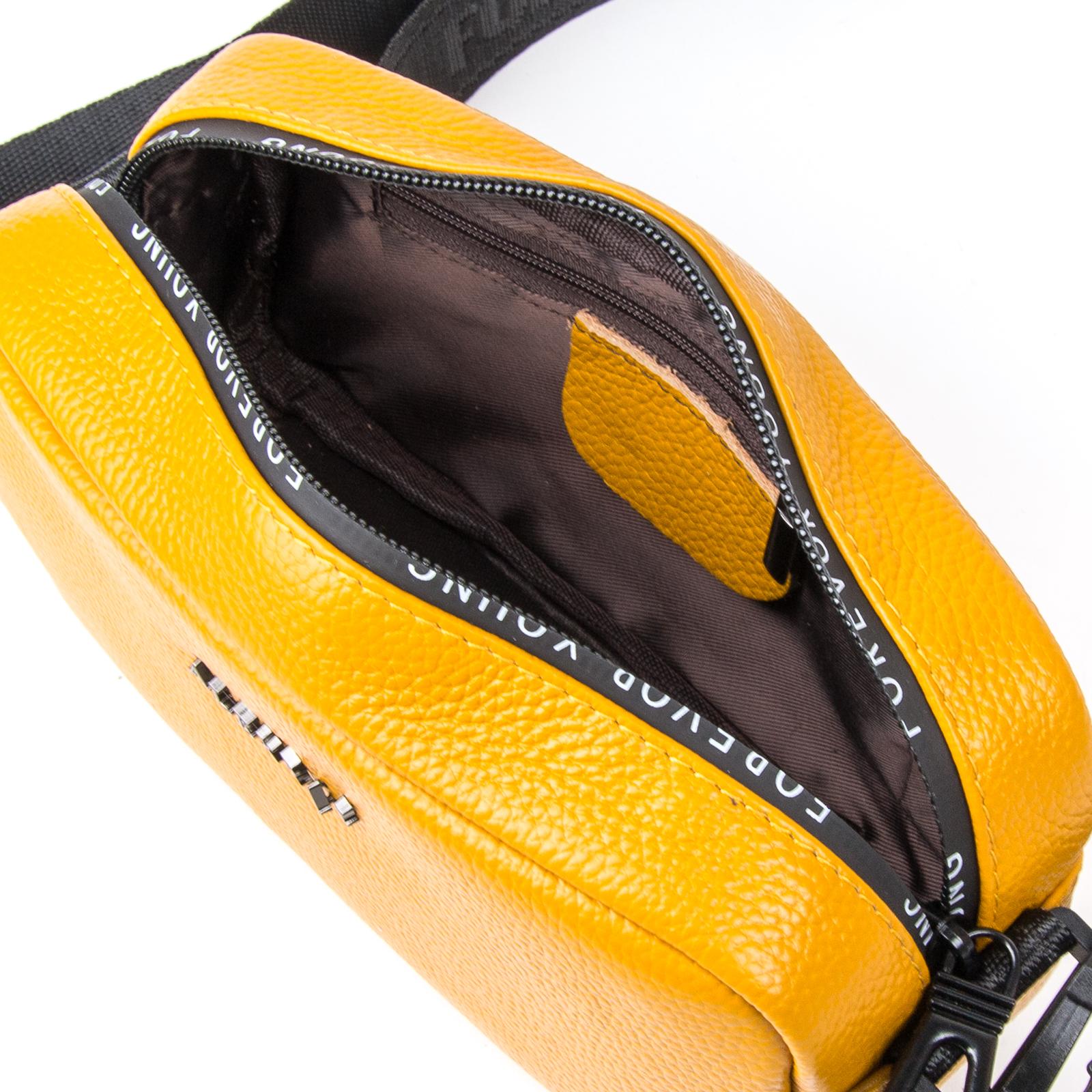 Сумка Женская Клатч кожа ALEX RAI 1-02 60062-9 yellow - фото 4
