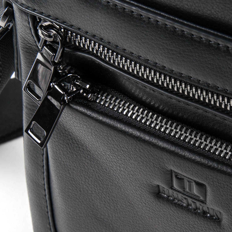 Сумка Мужская Планшет кожаный BRETTON BE N2038-4 black - фото 3