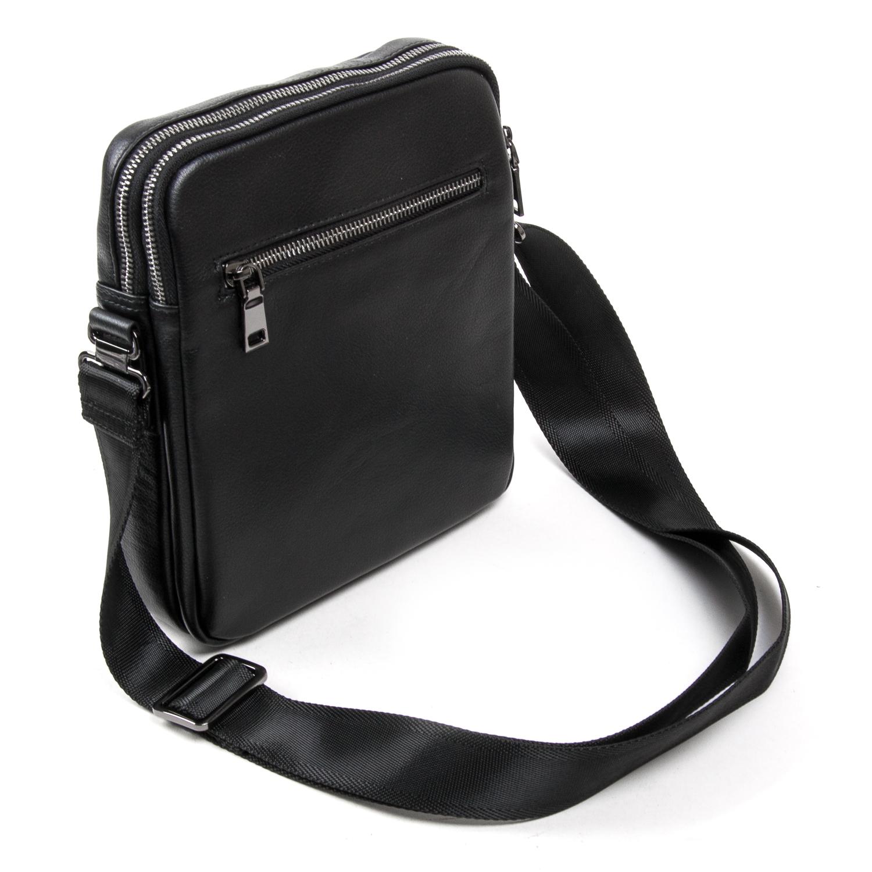 Сумка Мужская Планшет кожаный BRETTON BE N2038-4 black - фото 4