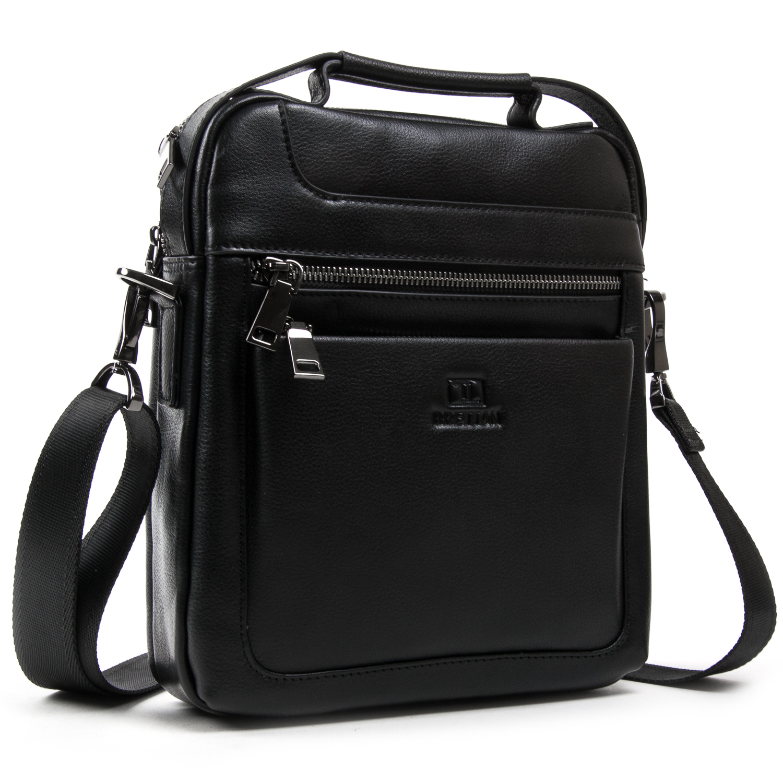 Сумка Мужская Планшет кожаный BRETTON BE N2038-3 black