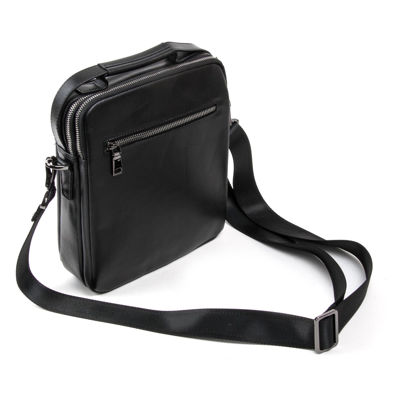 Сумка Мужская Планшет кожаный BRETTON BE N2038-3 black - фото 4