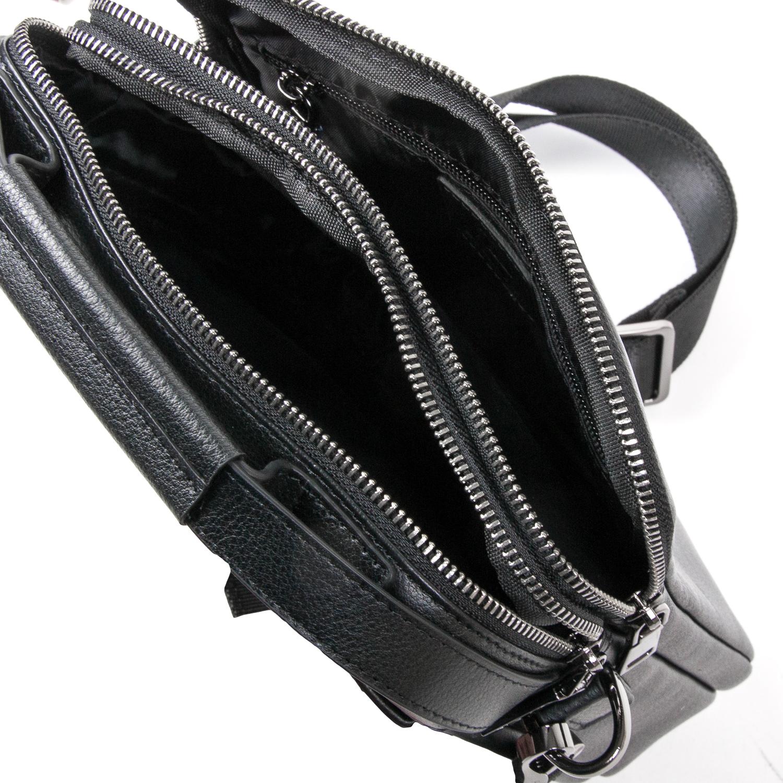 Сумка Мужская Планшет кожаный BRETTON BE N2038-3 black - фото 5