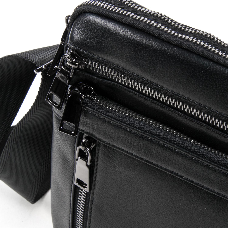 Сумка Мужская Планшет кожаный BRETTON BE N2039-4 black - фото 3