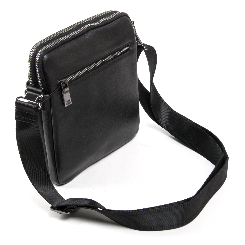 Сумка Мужская Планшет кожаный BRETTON BE N2039-4 black - фото 4