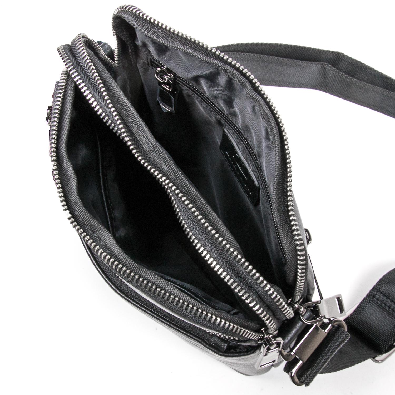 Сумка Мужская Планшет кожаный BRETTON BE N2039-4 black - фото 5