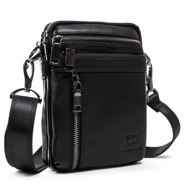 Сумка Мужская Планшет кожаный BRETTON BE N2039-6 black