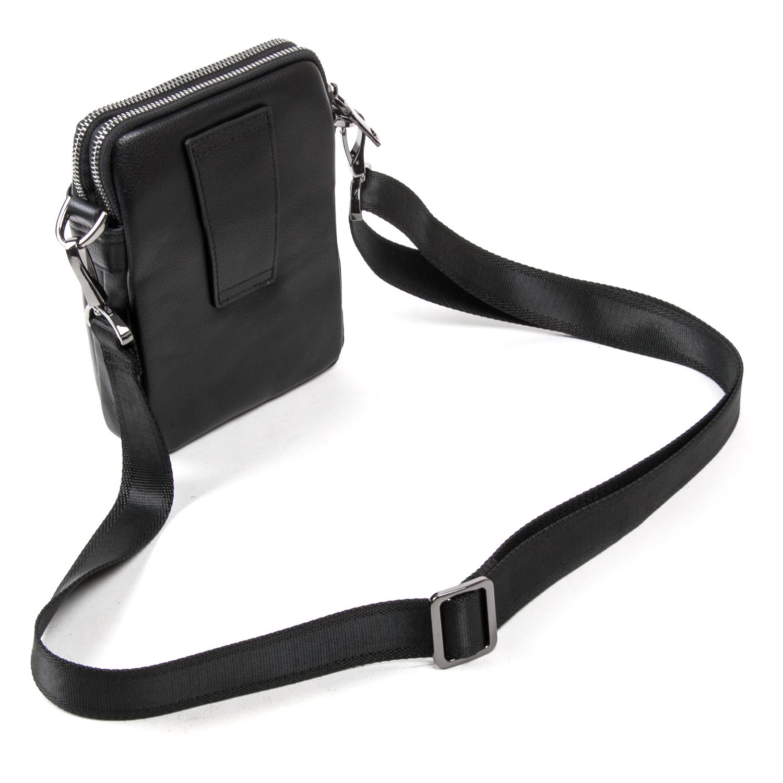 Сумка Мужская Планшет кожаный BRETTON BE N2039-6 black - фото 4