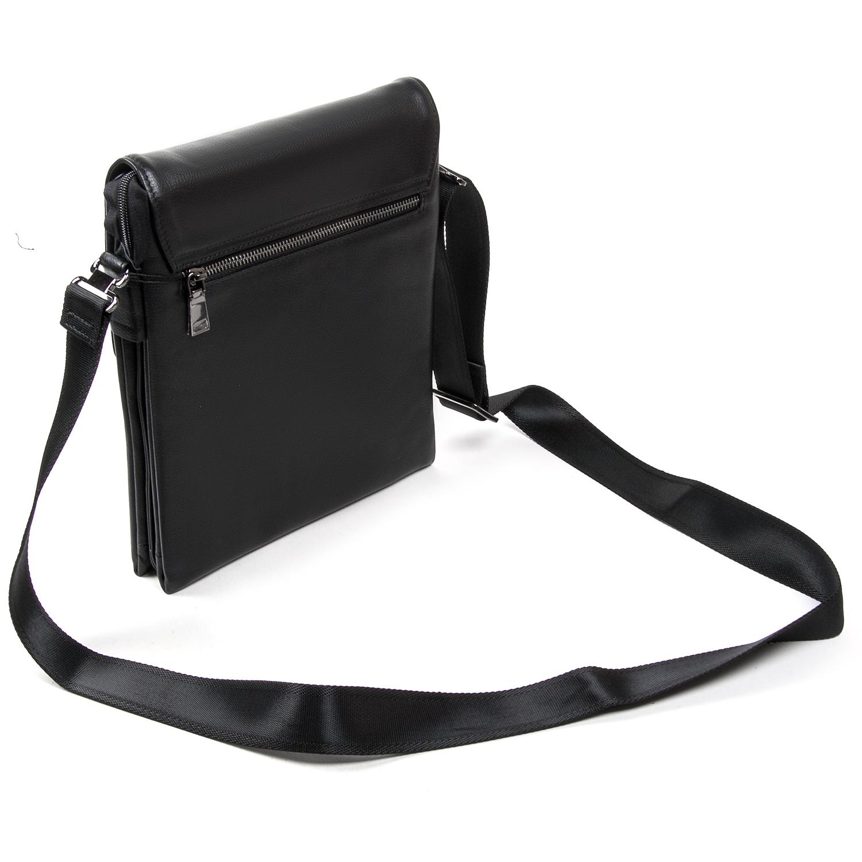 Сумка Мужская Планшет кожаный BRETTON BE N2040-3 black - фото 4