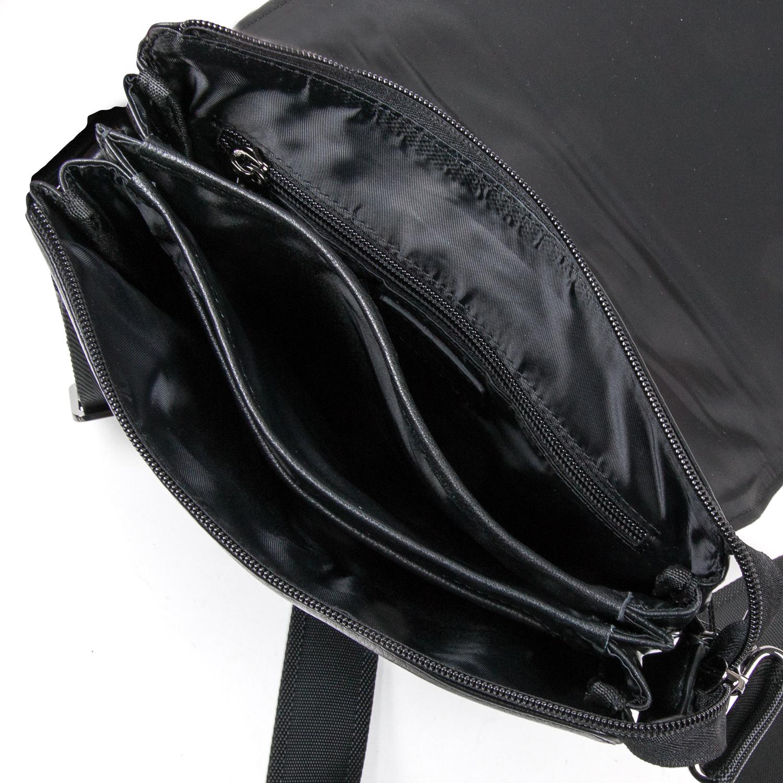 Сумка Мужская Планшет кожаный BRETTON BE N2040-3 black - фото 5