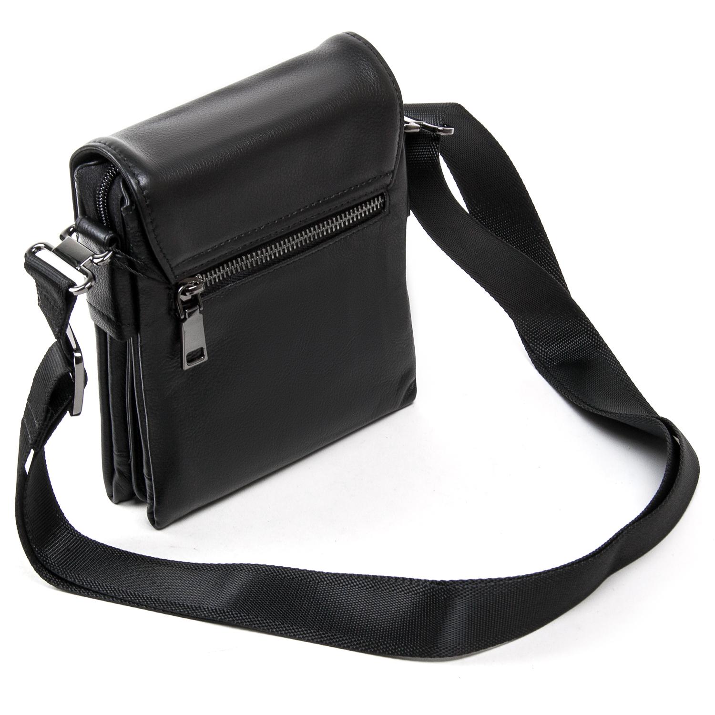 Сумка Мужская Планшет кожаный BRETTON BE N2040-6 black - фото 4