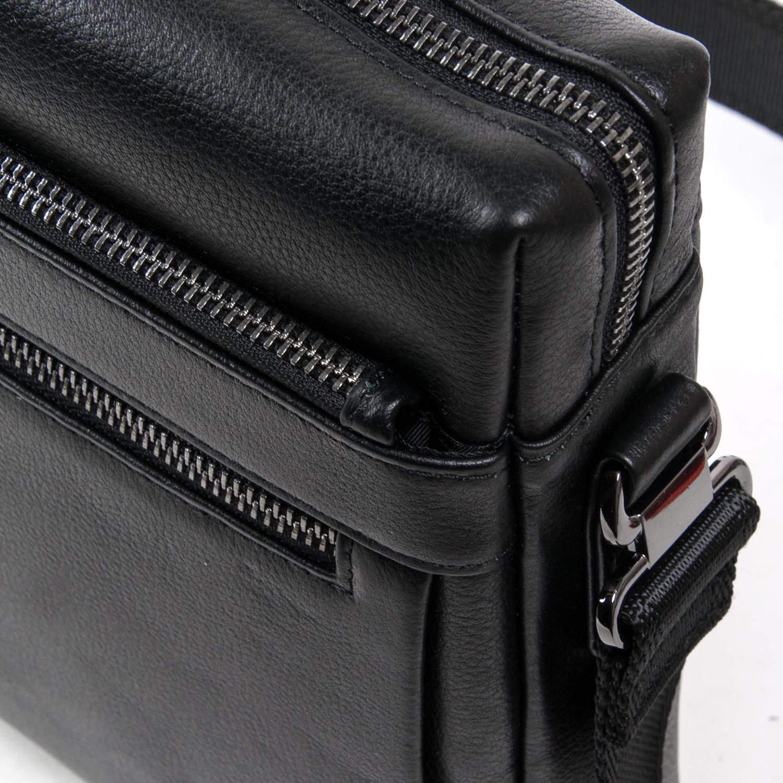 Сумка Мужская Планшет кожаный BRETTON BE N3687-4 black - фото 3