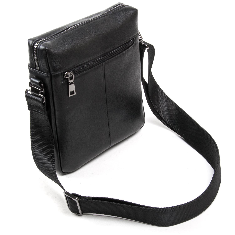 Сумка Мужская Планшет кожаный BRETTON BE N3687-4 black - фото 4