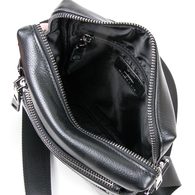 Сумка Мужская Планшет кожаный BRETTON BE N3687-4 black - фото 5
