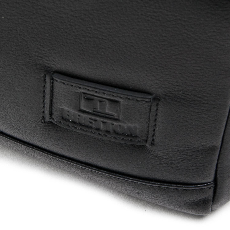 Сумка Мужская Планшет кожаный BRETTON BE N3691-4 black - фото 3