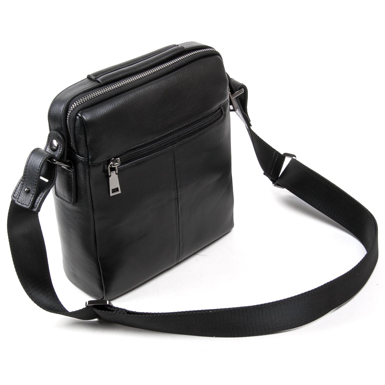 Сумка Мужская Планшет кожаный BRETTON BE N3691-4 black - фото 4