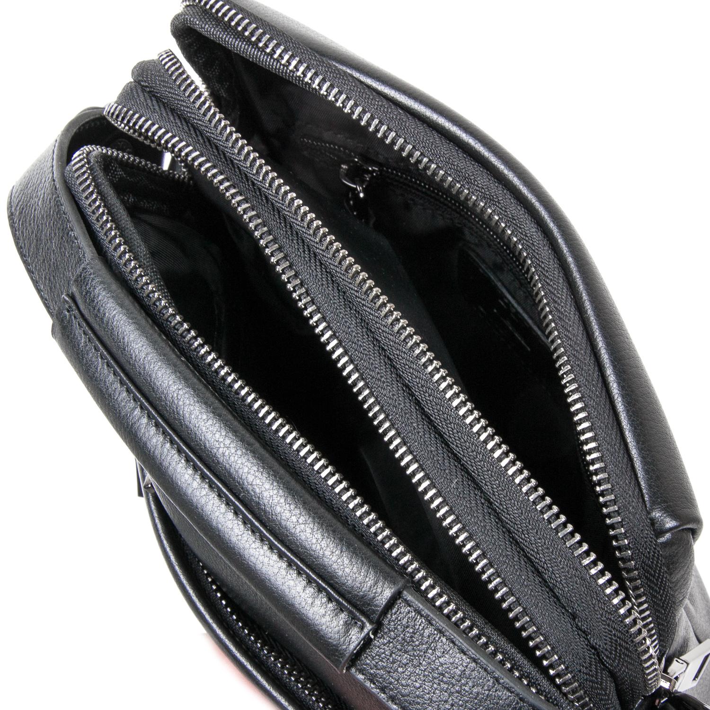 Сумка Мужская Планшет кожаный BRETTON BE N3691-4 black - фото 5