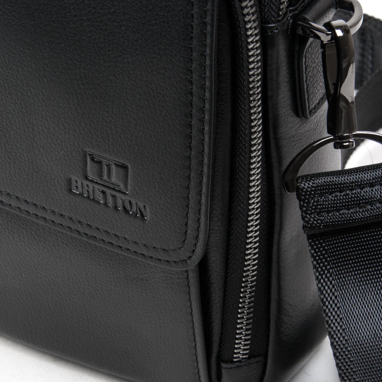 Сумка Мужская Планшет кожаный BRETTON BE N9357-2 black - фото 3