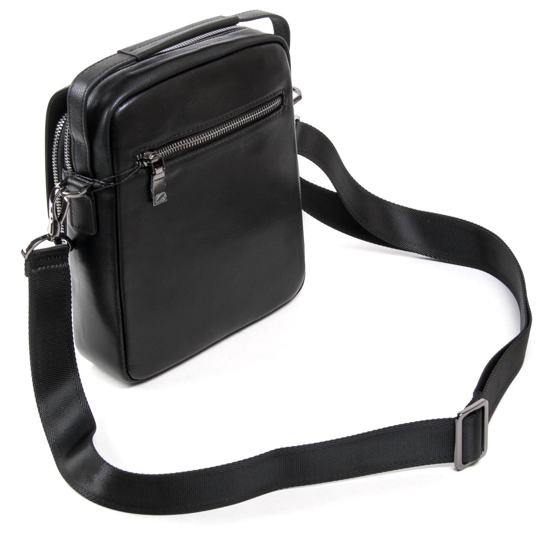 Сумка Мужская Планшет кожаный BRETTON BE N9357-2 black - фото 4