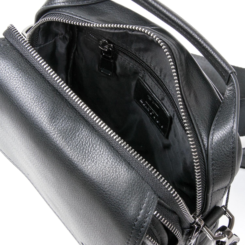 Сумка Мужская Планшет кожаный BRETTON BE N9357-2 black - фото 5