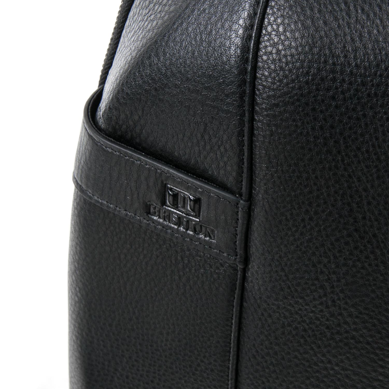 Рюкзак Городской кожаный BRETTON BE 9311-49 black - фото 3