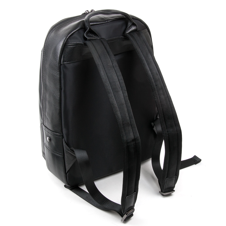 Рюкзак Городской кожаный BRETTON BE 9311-49 black - фото 4