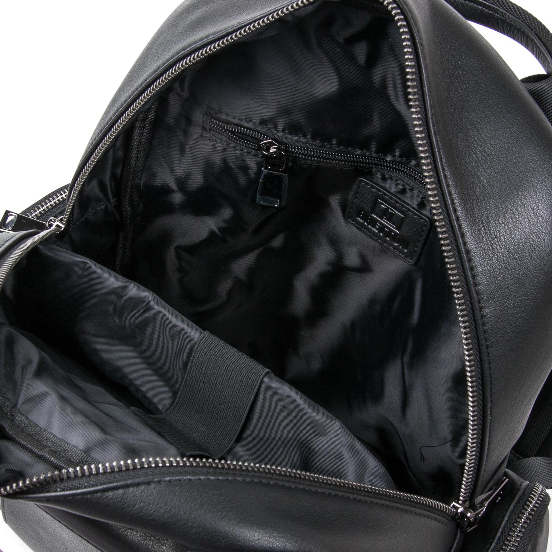 Рюкзак Городской кожаный BRETTON BE k1650-3 black - фото 5