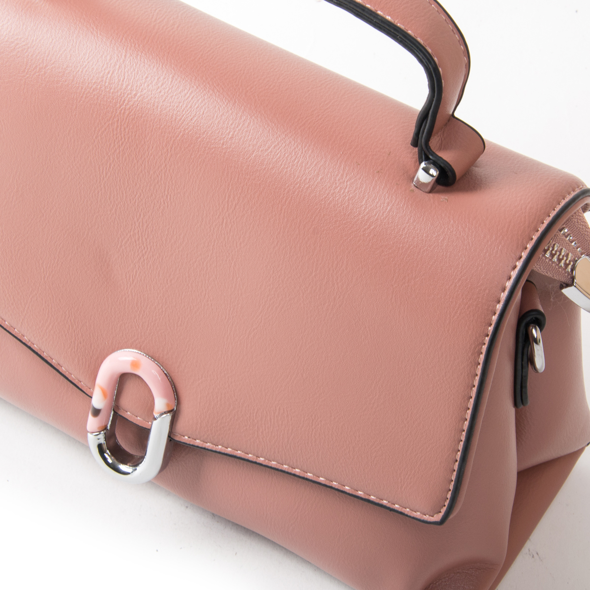 Сумка Женская Классическая иск-кожа FASHION 01-00 701 pink - фото 3