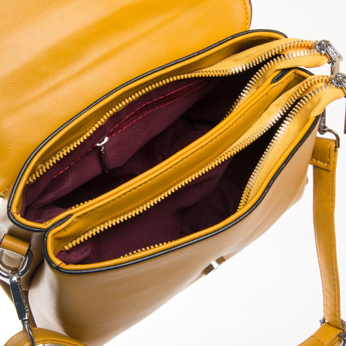 Сумка Женская Классическая иск-кожа FASHION 01-00 701 yellow - фото 5