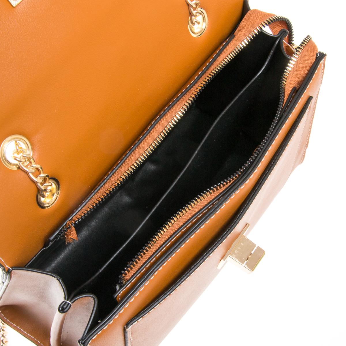 Сумка Женская Классическая иск-кожа FASHION 01-00 810 brown - фото 5