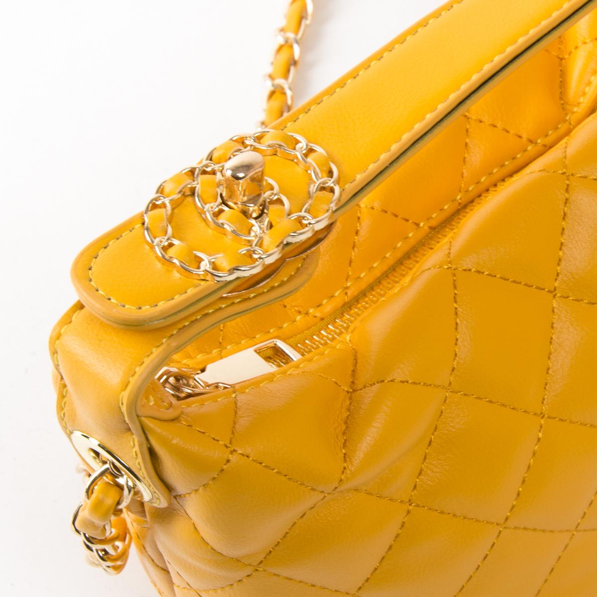 Сумка Женская Классическая иск-кожа FASHION 01-00 8669 yellow - фото 3
