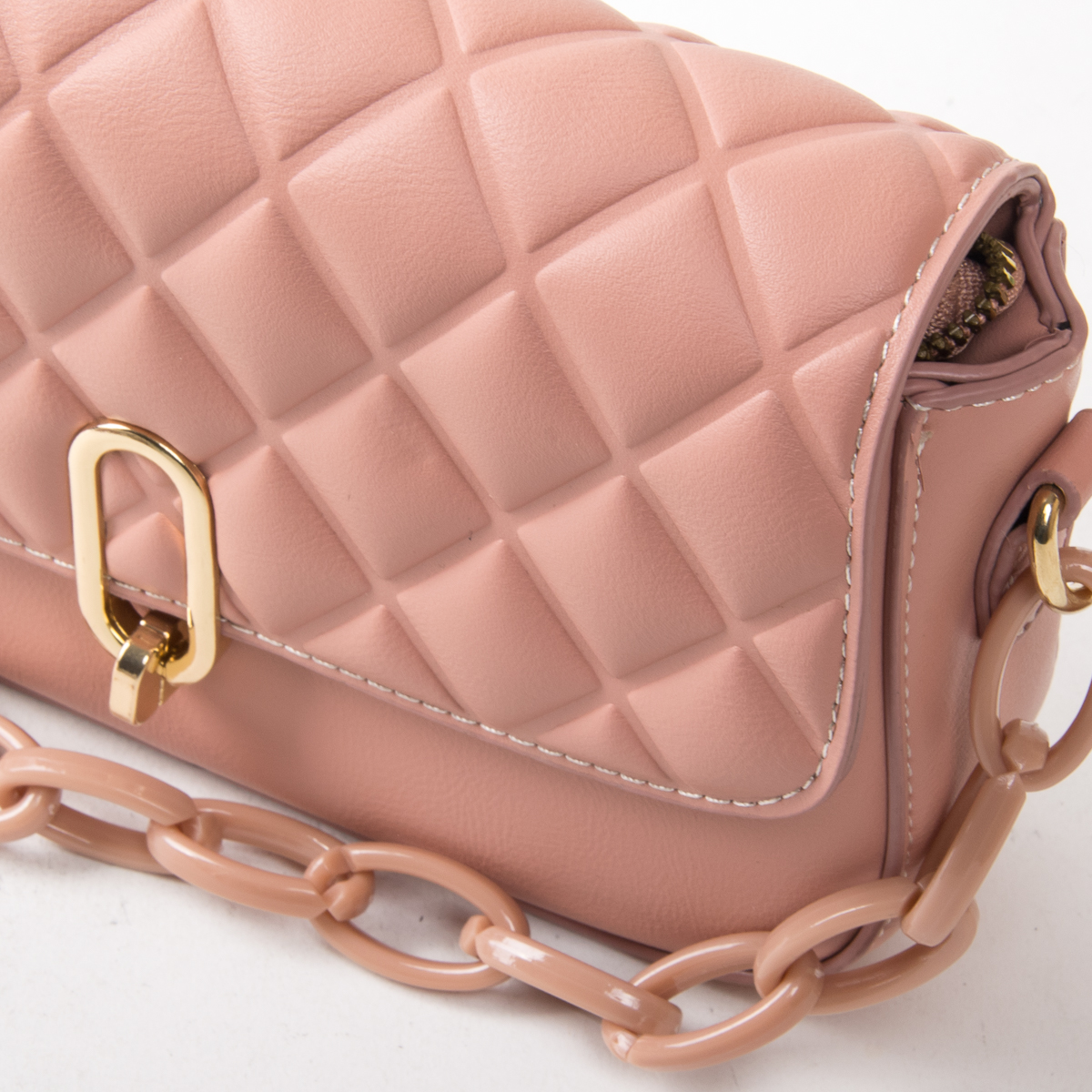 Сумка Женская Классическая иск-кожа FASHION 01-00 8697 pink - фото 3