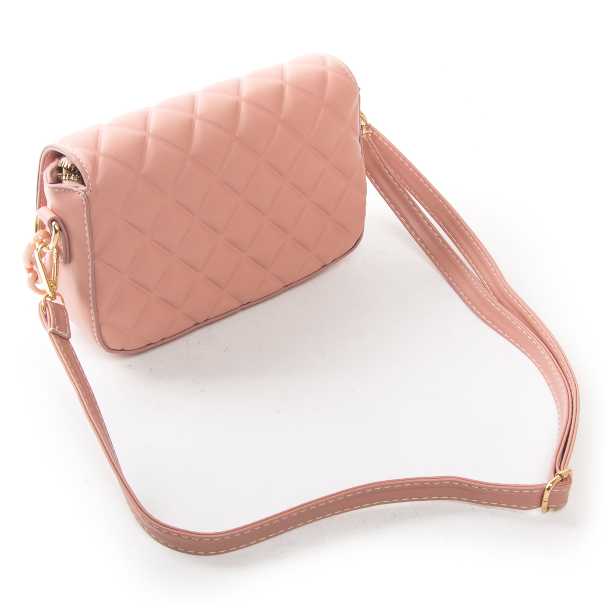 Сумка Женская Классическая иск-кожа FASHION 01-00 8697 pink - фото 4