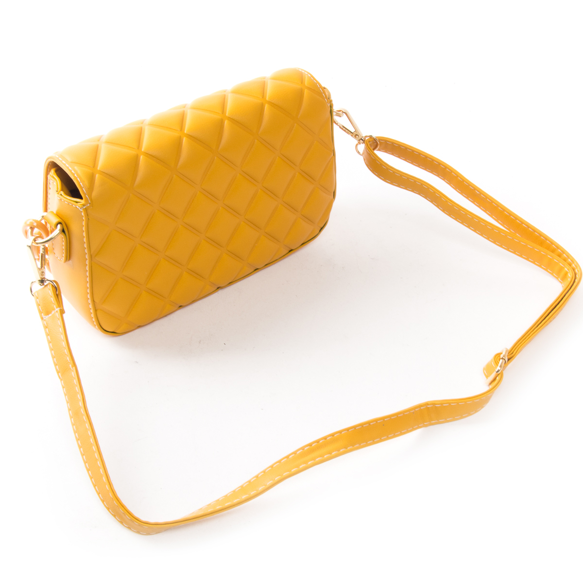Сумка Женская Классическая иск-кожа FASHION 01-00 8697 yellow - фото 4