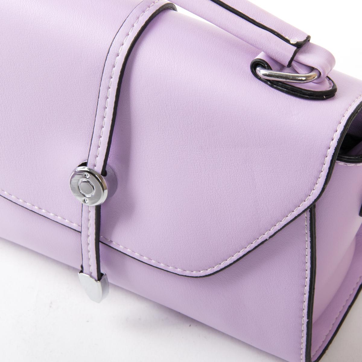 Сумка Женская Классическая иск-кожа FASHION 01-00 9908 purple - фото 3