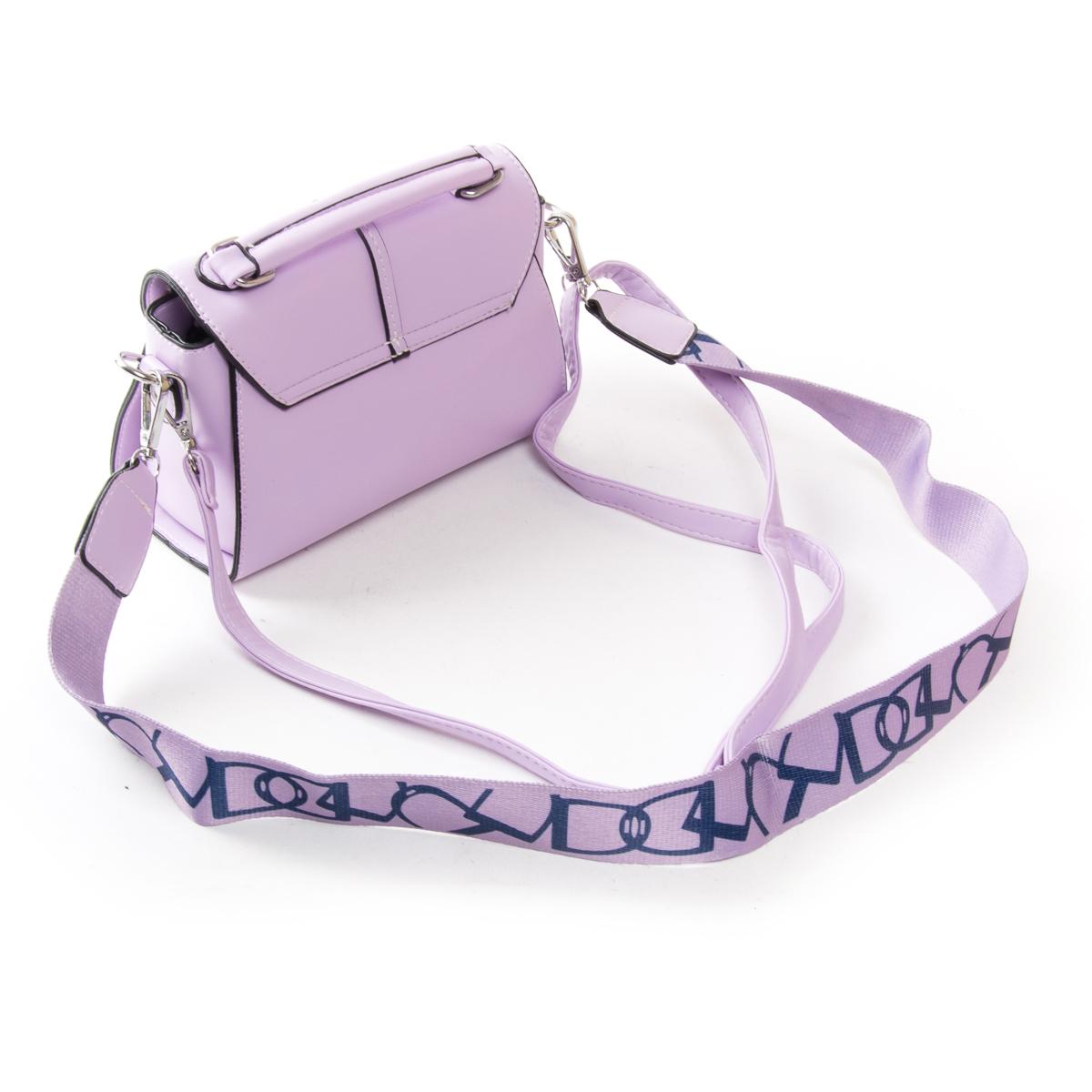 Сумка Женская Классическая иск-кожа FASHION 01-00 9908 purple - фото 4