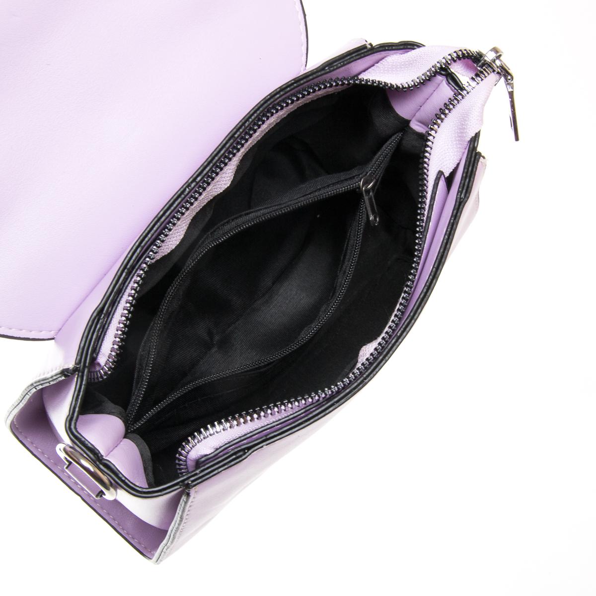 Сумка Женская Классическая иск-кожа FASHION 01-00 9908 purple - фото 5