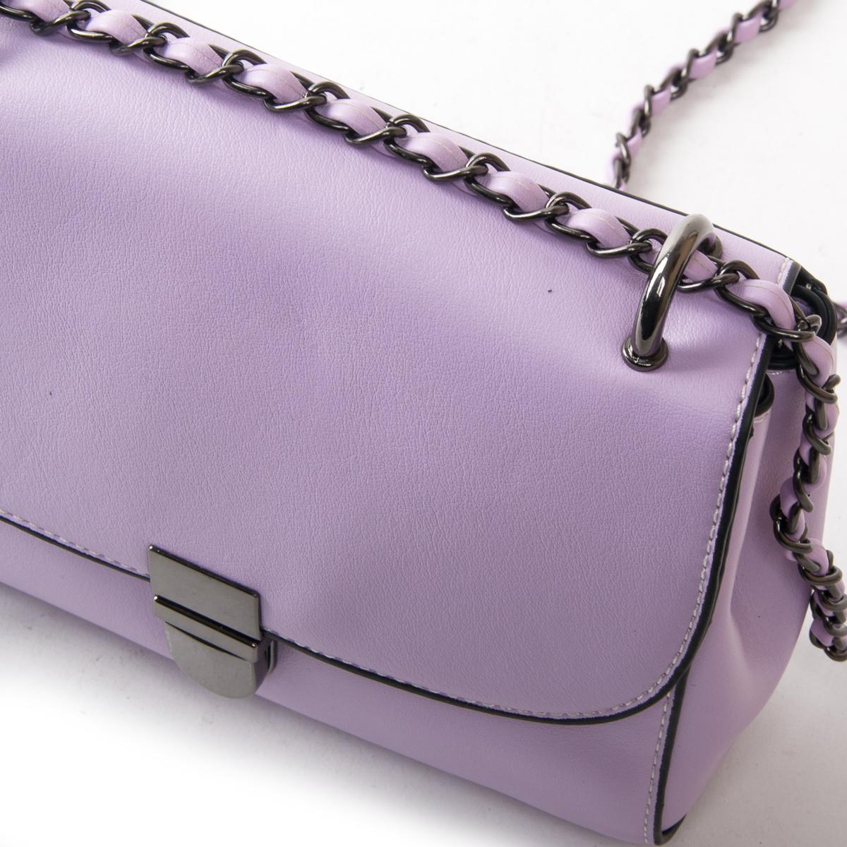Сумка Женская Классическая иск-кожа FASHION 01-00 9909 purple - фото 3