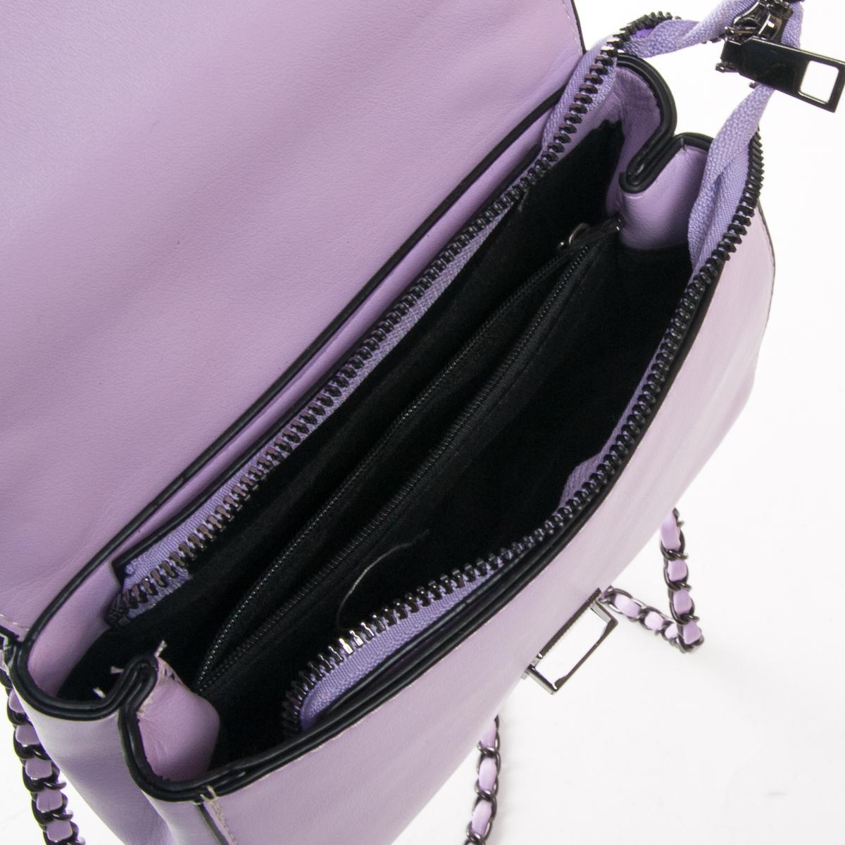 Сумка Женская Классическая иск-кожа FASHION 01-00 9909 purple - фото 5