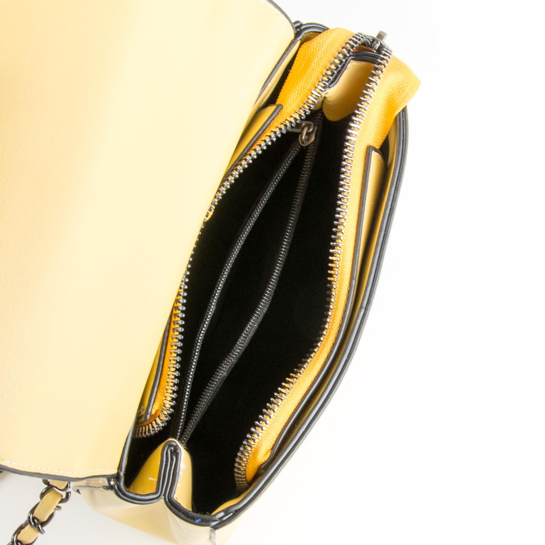 Сумка Женская Классическая иск-кожа FASHION 01-00 9909 yellow - фото 5