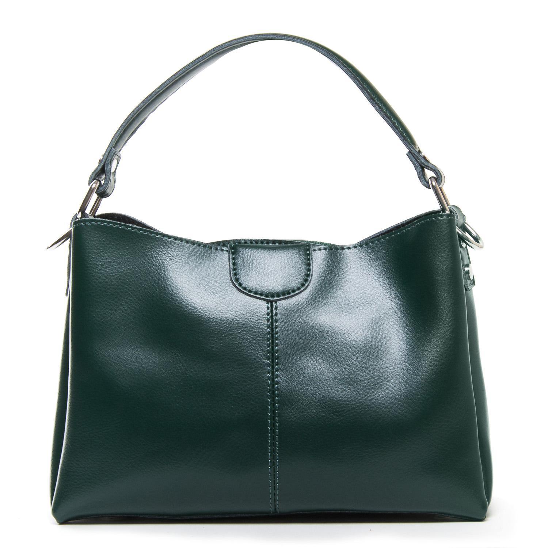 Сумка Женская Классическая кожа ALEX RAI 05-01 1383 green